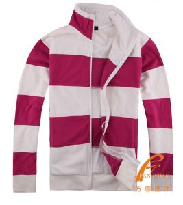 Youth Fashion Stripe Colour Matching Sweater