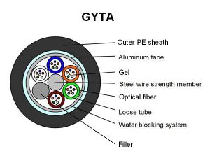 24 Core GYTA-Fiber Optic Cable for Duct GYTA pictures & photos