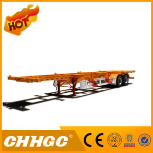 30t Load 2axle Skeleton Container Semi Trailer pictures & photos