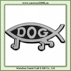 Fish Shape Car Emblem Badges (S1M063) pictures & photos