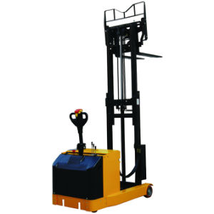 Power Reach Forklift Truck Stacker pictures & photos