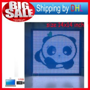 LED Display Billboard USB Editable Support Text Logo Image Full Color LED Scroll Sign Display pictures & photos