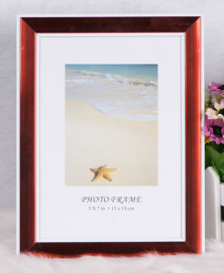 Plastic Back Open Photo Frame (BH-6) pictures & photos