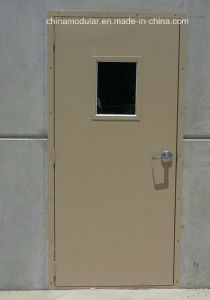 Metal Door with View Glass (CHAM-SD02) pictures & photos
