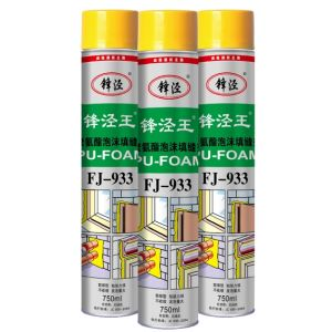 Construction PU Foam Sealant 500ml/750ml China Biggest Factory Direct Supply pictures & photos