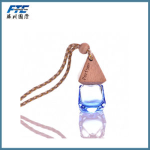 Mini Car Perfume Bottle with Wooden Cap pictures & photos