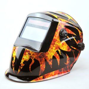 Big View Window Auto-Darkening Welding Helmet Ce Approved pictures & photos
