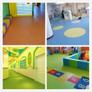 Anti-Slip Fireproof Waterproof Vinyl Flooring for Kindergarten and Hospital pictures & photos