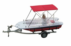 Aqualand 13feet Fiberglass Fishing Boat/Rib Motor Boat (130) pictures & photos