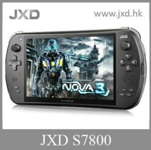 JXD S7800b Quad Core Android Game Console, with Rockchip 3188