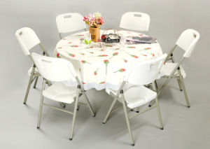 2015 New 4 Ft Round Party Table (SY-122Y) pictures & photos