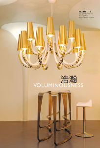 Elegant Good Quality Gold E14 Pendant Lamps (NLX8861-15) pictures & photos