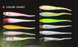 Different Color of Soft Lure Soft Lure Like Real Fish Soft Bait pictures & photos