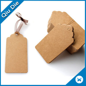 Colorful Customized Brown Kraft Hangtag for Garment Wholesale in China pictures & photos