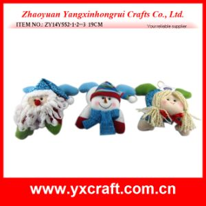 Christmas Decoration (ZY14Y552-1-2--3) Xmas Toy Santa Snowman Angel pictures & photos