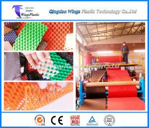 Plastic PVC Anti-Slip Matting Roll Production Line / Plastic Mat Extruder Machine pictures & photos