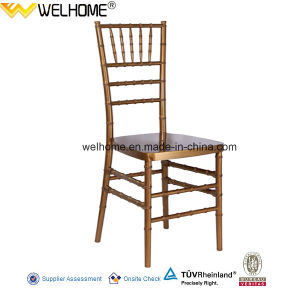 Dark Gold Color Acrylic Resin Chiavari Chair pictures & photos