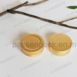 Anodized Golden Aluminum Tea Tin Can pictures & photos