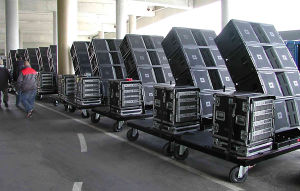 Dual 15 Inch Three Way Power Active Line Array (VT4889) pictures & photos