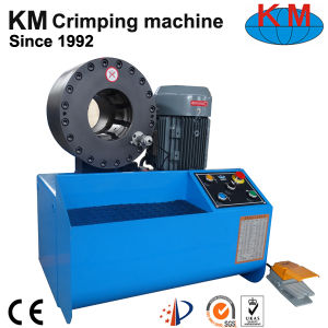 "Hose Crimping Machine 1/4"" to 2"" Km-91h for Uruguay pictures & photos"