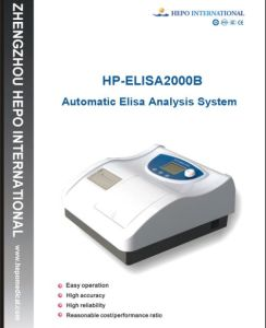 Automatic Elisa Reader Analysis System HP-Elisa 2000b pictures & photos