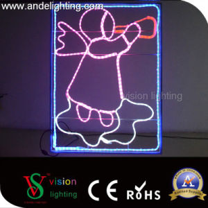 Outdoor LED Christmas Light Street Motif Lights Decoration with Pole Light pictures & photos