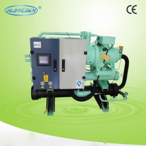 High Efficiency Water Cooled Screw Compressor Chiller pictures & photos