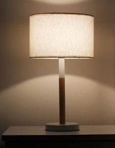 Metal Wood Table Lamp (WHT-053) pictures & photos