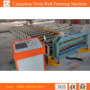Galvanized Steel Zinc Roof Sheet Metal Roofing Sheet Making Machine pictures & photos
