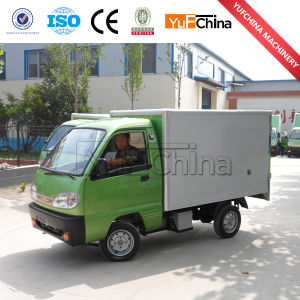 Factory Price Stainless Steel+Metal Material Mobile Snack Food Cart/Dinner Car/Snack Car pictures & photos