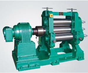 Xk-710 Rubber Sheeting Mill with Stock Blender / Rubber Mixing Mill