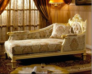 Lounge Sofa/Lounge Chaise/Hotel Bedroom Furniture/Leisure Chair (GLL-011) pictures & photos