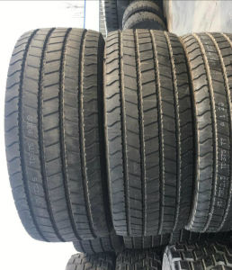 Fengshen 445/75 R22.5 Vacuum Base Wide Tires All Steel Engineering Tire Spot Quality Goods