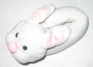 Plush Stuffed Animal Shoes Slippers Rabbit Head (TF9717) pictures & photos