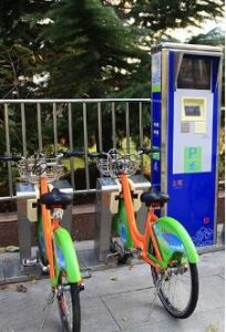 Bicycle Rental System with Smart Management Box Built-in GSM/GPRS, 3G/HSPA Wireless Communication Module