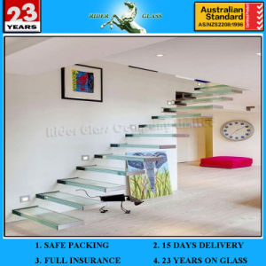 2-19mm Thick Clear Float Glass Sheet with AS/NZS 2208 pictures & photos