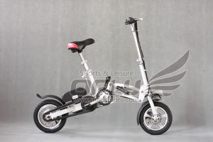 350W Adult Easy Foldable Electric Bike with Lithium Battery pictures & photos