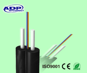 FTTH G652D Drop Fiber Optic Cable with Self-Supporting pictures & photos