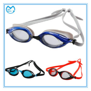 Anti Slip Silicone Wrapped Around Adult Prescription Swimming Eyewear pictures & photos