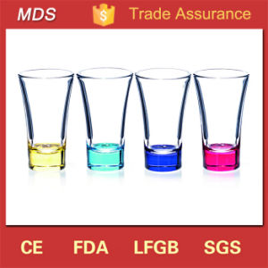Drinkware Type Nightclub Rainbow Colored Shot Glass Centerpiece pictures & photos