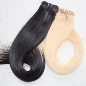 100% Indian Remy Hair Clip in Human Hair pictures & photos