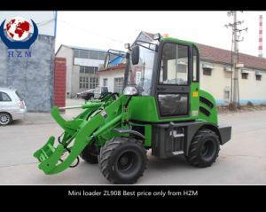 Hzm Top Quality Wheel Loader New Design 800kg Mini Loader pictures & photos