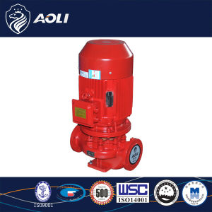 100mm Outlet Vertical Inline Fire-Fighting Centrifugal Pump pictures & photos