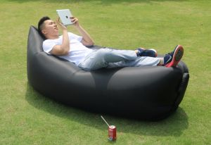 High Quality Inflatable Folding Lazy Sleeping Bag Air Sofa pictures & photos
