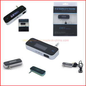 FM Transmitter for iPhone Instructions Car MP3 Player FM Transmitter USB pictures & photos