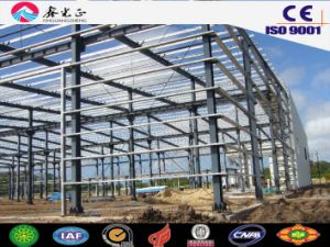 High Quality Light Steel Prefabricated Warehouse with Ce Certification (SSW-14344) pictures & photos