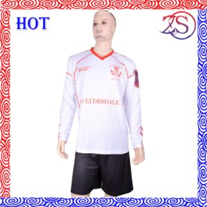 High Quality Custom Wholesale Sublimated Football Shirt / Soccer Jersey/Goalkeeper Uniform pictures & photos