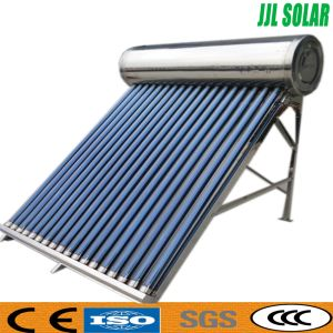 Pressurized/High Pressure Stainless Steel Heat Pipe Solar Water Heater Solar Geyser pictures & photos