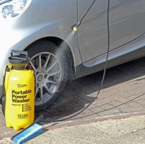 Portable Pressure Washer Power Pump Car Washer pictures & photos