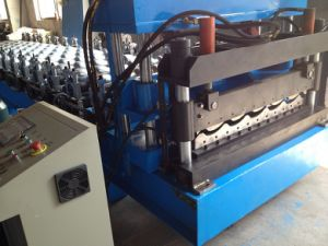 Roll Forming Machine for Making Roof Tile pictures & photos